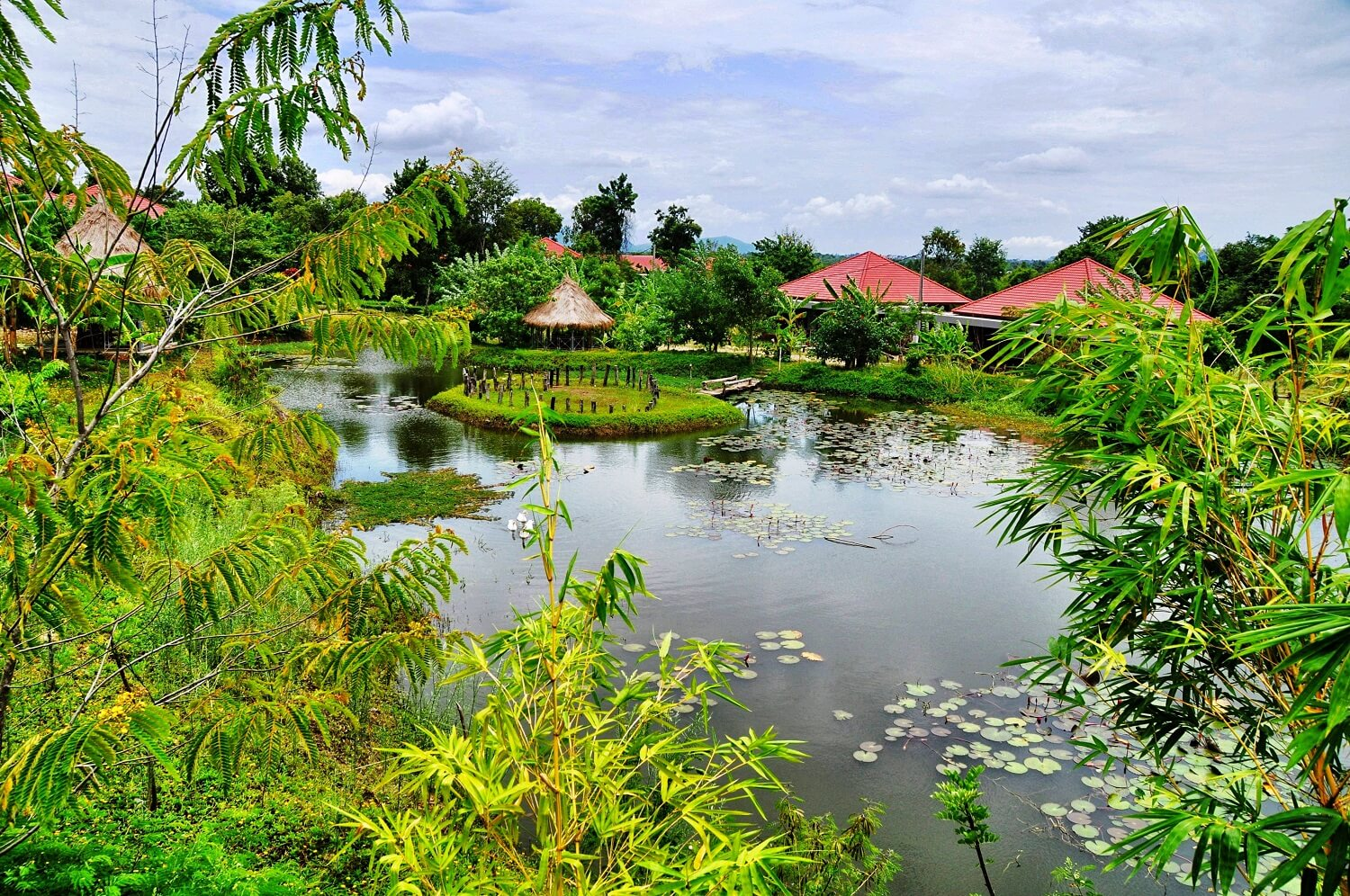 Eco retreat in Pailin