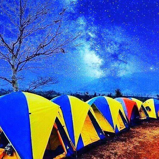 camping at memoria